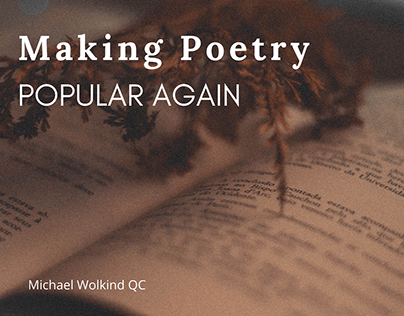 Making Poetry Popular Again