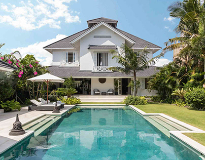 DS Bali Villa Photography - Luxury Colonial Style Villa