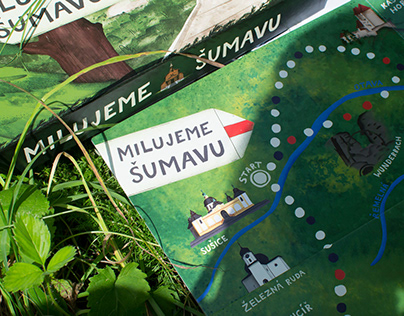 We Love Šumava - board game