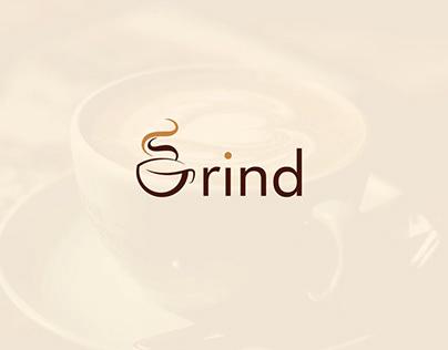 Grind Coffee Logo | Branding