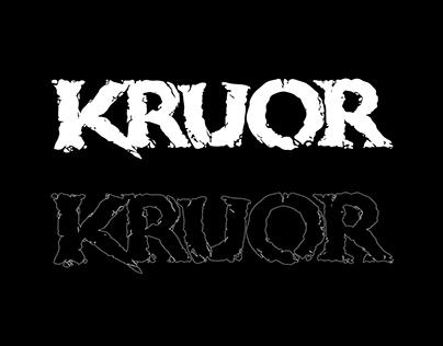 KRUOR logo + artwork