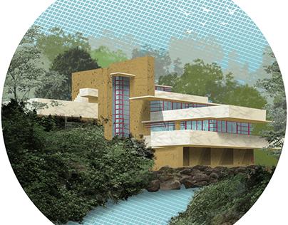 Maison sur la cascade ou Fallingwater