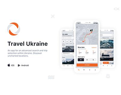 "Mobile App ""Travel Ukraine"""