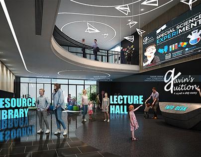 Virtual Lobby of Gavin's Tuition