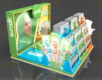 Sunslik Hijab Podium