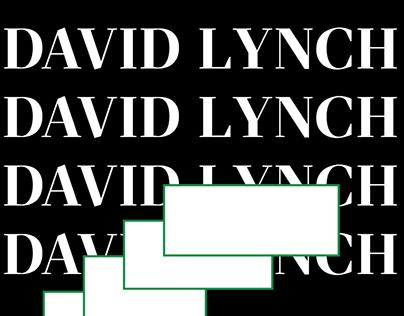 DAVID LYNCH | FESTIVAL IDENTITY