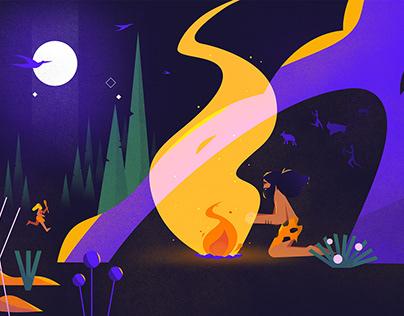 Vakıfbank Hackathon Animation