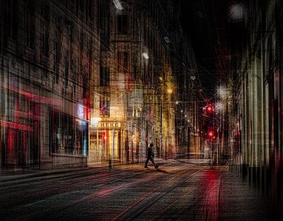 """Streets of Vienna, my vision"" (All works)"
