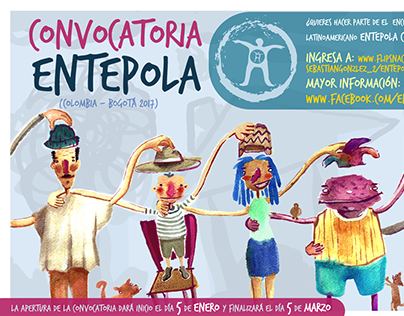 Convocatoria Entepola Colombia - Bogotá 2017