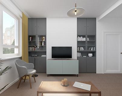 Small Housing Development in Anniesland, Glasgow, UK