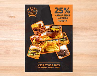 Discount Flyer for Restaurant
