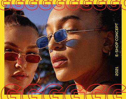 E-shop sunglasses