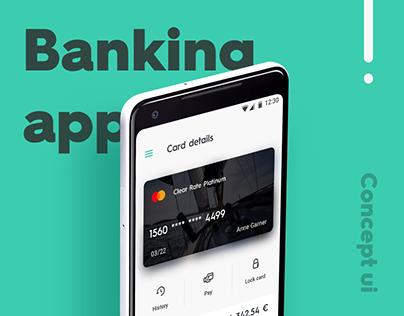Bank App UI Concept