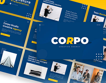 Corpo – Creative Business PowerPoint Template