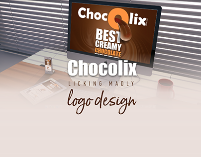 Chocolix logo design