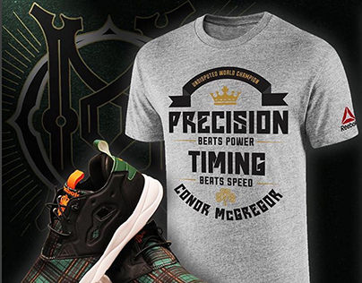 Conor McGregor Precision + Timing Shirt