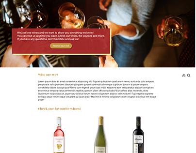 Winelovers webpage