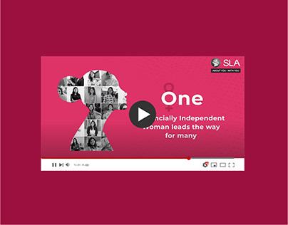 Women's Day Social Media Video Campaign - SLA Finserv