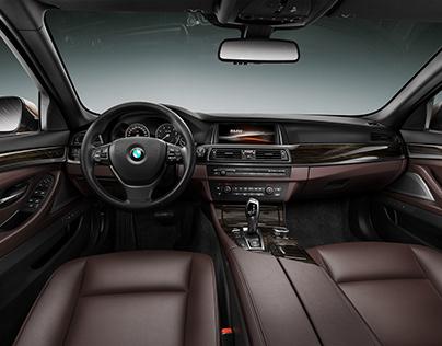 BMW 5er CGI Interior