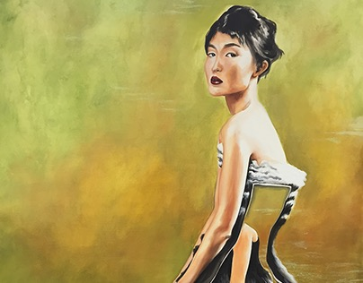 Tessa Johnson Painting Spring 2016