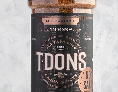 TDon's Cajun Seasonings