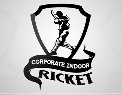 Corporate indoor cricket logo flyer on behance for Indoor cricket net design