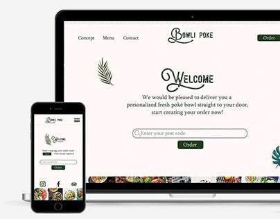 Bowli poké ·Responsive web design