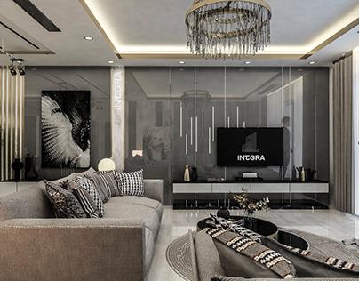 Living Room Beverly Hills - Sheikh Zayed