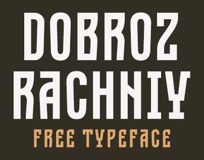 Dobrozrachniy | free typeface