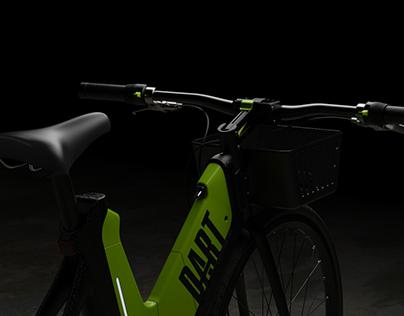 Dart Electric Rideshare Bike