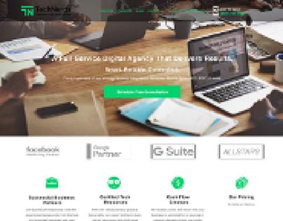 Technerds Landing Page