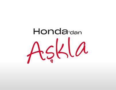 #HondadanAşkla - 14 Şubat Sevgililer Günü Sürprizi