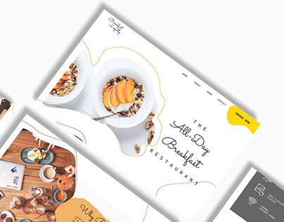 Breakfast Loyalty - UI Design