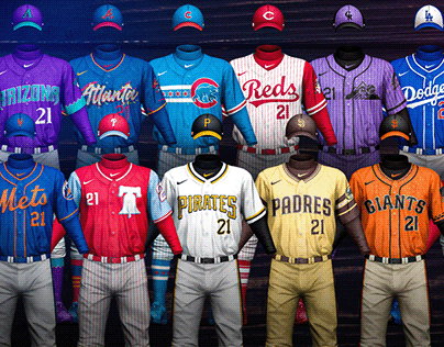 MLB Jerseys Redesigned 2021