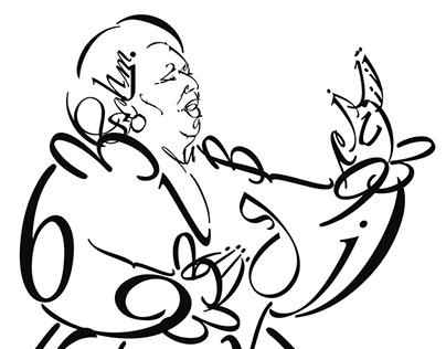 Persotipo - Ilustraciones tipográficas