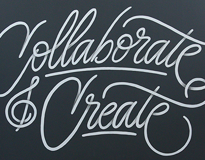 Collaborate & Create Mural