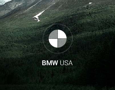 BMW USA website concept
