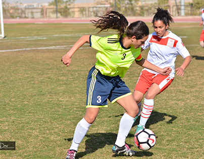 Special Olympics Egypt's female Unified Football