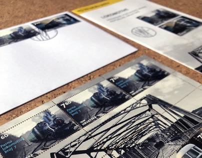 postage stamps - croatian locomotives