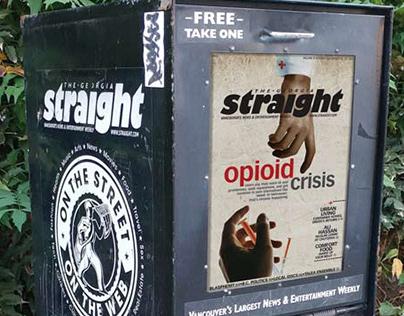 The Georgia Straight: Opioid Crisis Cover