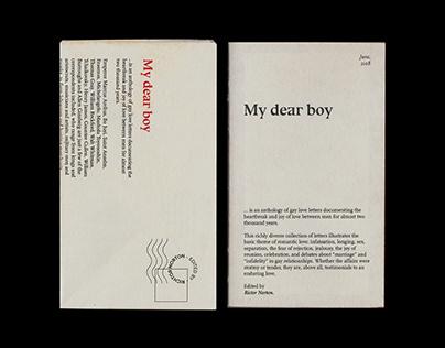 My Dear Boy, Book