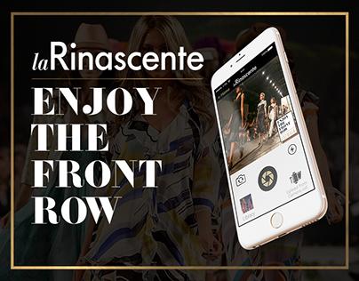 """Mobile Application for """"La Rinascente"""""""