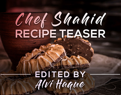 Five Star Pastry Recipe Teaser | Edited by Alvi Haque