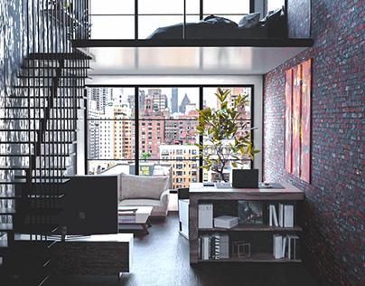 Loft Apartment Visualisation