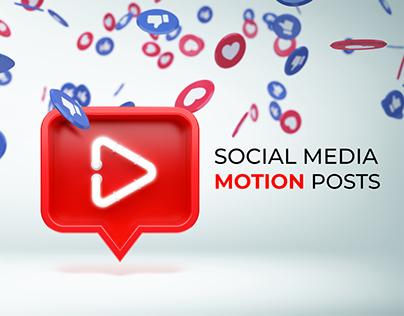 Social Media Motion Posts
