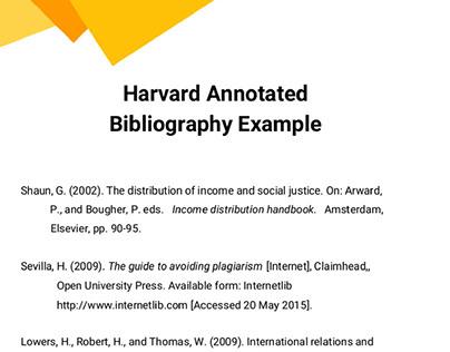 Bibliography Samples Uk On Behance