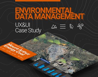 Environmental Data Management - UX/UI Case Study