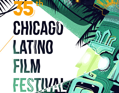 Chicago Latino Film Festival poster