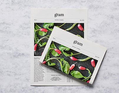 Menu Design for Gram