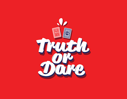 Typography - Game Truth or Dare